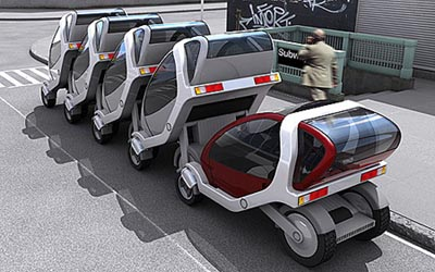image_11990_largeimagefile Foldable CityCar Concept Makes For Ultra Compact Parking