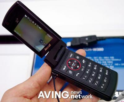 image_14421_largeimagefile Samsung SCH-W380 Slim Swivel Phone with HSDPA