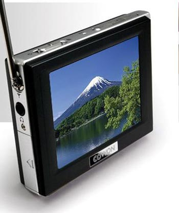 image_14694_largeimagefile Cowon D2TV Portable Media Player Boasts Detachable Antenna
