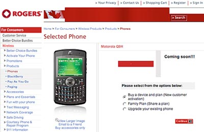 image_14831_largeimagefile Rogers Wireless Receives Motorola Q9h Smartphone