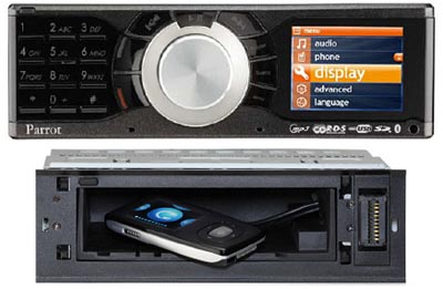 image_14982_largeimagefile Parrot RK8200 Car Stereo Lacks CD Slot, Boasts Secret Slot