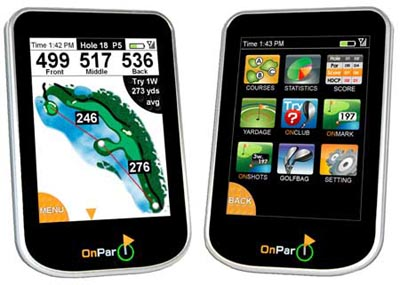 image_1545_largeimagefile  OnPar Golfer GPS Handheld with iPhone Flair