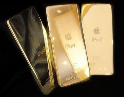 image_18615_largeimagefile Apple iPod Plated in 24 Karat Gold