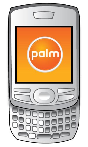 image_1959_largeimagefile Large Touchscreen-Equipped Palm Phone with Slide-Down Keyboard