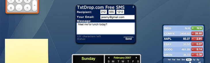 image_20969_superimage Mac OS X Widget Sends Free Text Messages