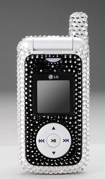 image_21135_largeimagefile LG FUSIC Phone is Swanky and Sparkly with Swarovski