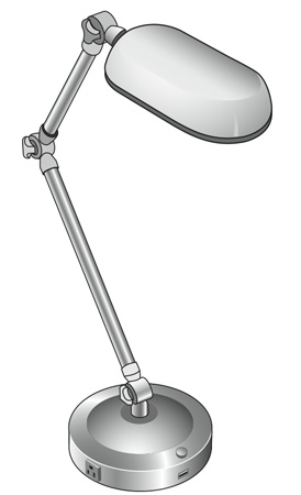 image_23942_largeimagefile Sharper Image integrates USB charger into desk lamp
