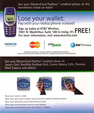 image_24132_largeimagefile Cingular, Nokia testing pay by mobile in N.Y.