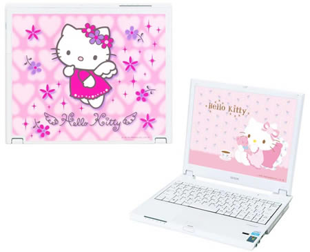 image_25029_largeimagefile Hello Kitty iPod-laptop set: no warm milk needed