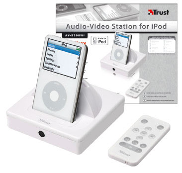 image_25350_largeimagefile Trust iPod docking station blasts videos onto your TV