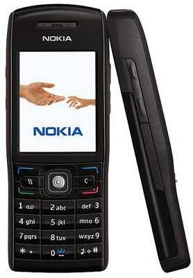 "image_25654_largeimagefile ""Metal Black"" Nokia E50: the compact smartphone"