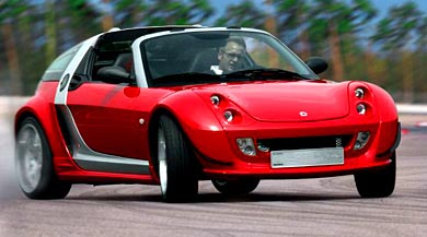image_25985_largeimagefile Video: Smart Roadster V6 Brabus tears up the race track