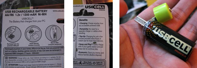image_26032_superimage REVIEW: USBCELL Rechargeable batteries