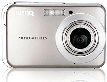 "image_27360_largeimagefile BenQ 7-megapixel X720 camera is ""world's thinnest"""