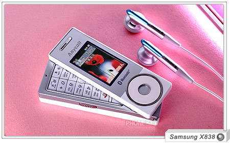 image_27813_largeimagefile Samsung X838 swivel, click-wheel music phone