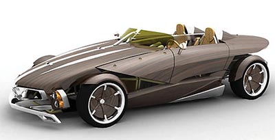 image_28208_largeimagefile Recy, the 100% recyclable wooden Mercedes roadster