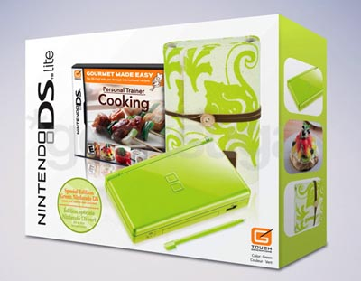 image_304_largeimagefile Hitting the Kitchen with Lime Green Nintendo DS Lite Bundle