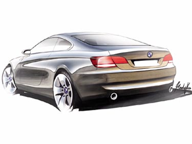 image_31867_largeimagefile What could've been: design sketches of BMW 3-Series coupe