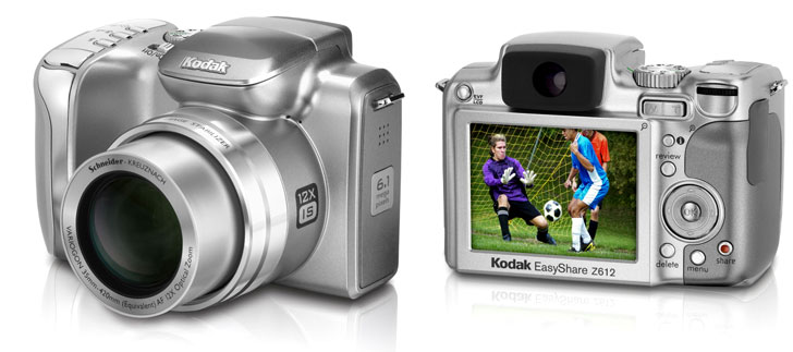 image_33155_superimage Kodak EasyShare Z612 is one beefy 12x optical zooming camera