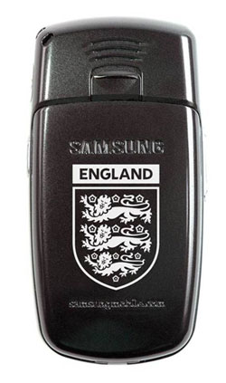 image_33215_largeimagefile England-branded Samsung phone to boost team morale against Portugal