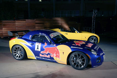 image_36496_largeimagefile Pontiac shows off Red Bull Solstice GXP Drift