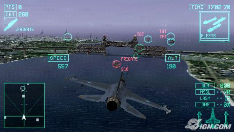 image_36606_largeimagefile Experience a dogfight in the palm of your hand with Ace Combat X for PSP