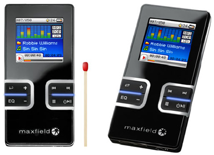 image_38276_largeimagefile Maxfield 4GB MAX-SIN with Video display