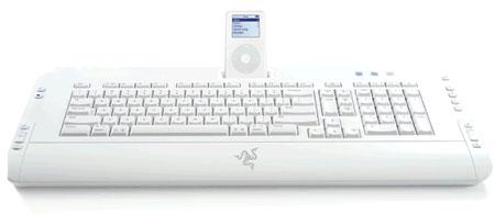 image_38914_largeimagefile Games and music: a keyboard with its own iPod dock