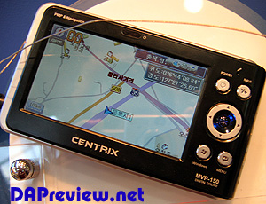 image_39036_largeimagefile Centrix MVP-150 PMP focuses on GPS, plays virtually anything