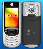 "image_39897_largeimagefile AXIA markets A308 as ""world's smallest"" Windows Mobile phone"
