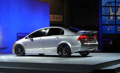 image_40973_largeimagefile Honda unveils Civic Si with four doors