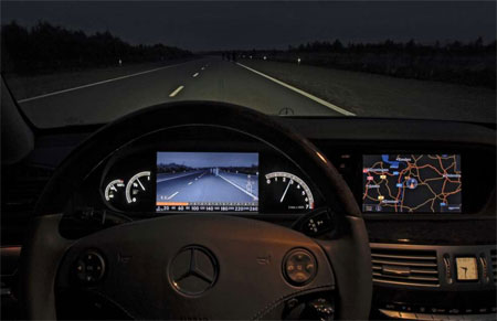 image_41340_largeimagefile Mercedes-Benz Night Vision Assist