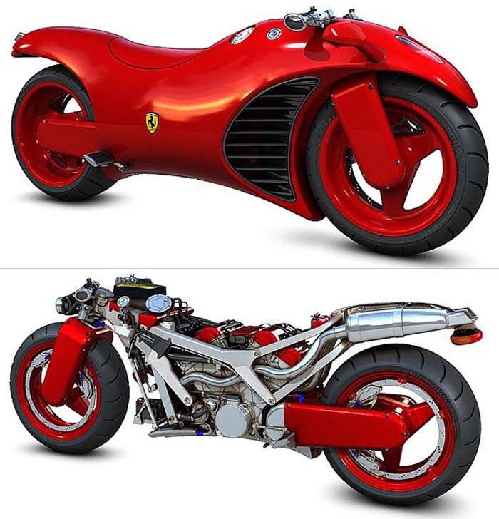 2010 ferrari v4 motorcycle