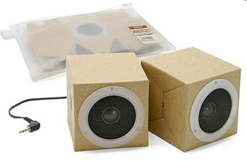 image_43856_largeimagefile Groove to Muji's 100% Recycled Cardboard Speakers