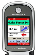 image_44070_largeimagefile GPS VZ Navigator service now offered by Verizon Wireless