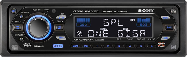 image_45998_superimage Sony Giga Panel makes having digital music in the car easier