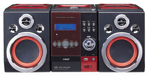 image_46768_largeimagefile Inkel P40CY Ghetto Blaster with USB MP3 Support