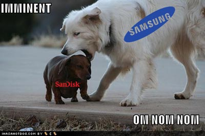 image_4709_largeimagefile  SanDisk Getting Purchased by Samsung for Flash Dominance