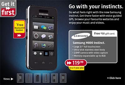 image_4850_largeimagefile  Canadians Can Buy Samsung Instinct for Under $120