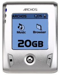 image_48763_largeimagefile Archos Gmini XS200 20GB mp3 player fits in your pocket
