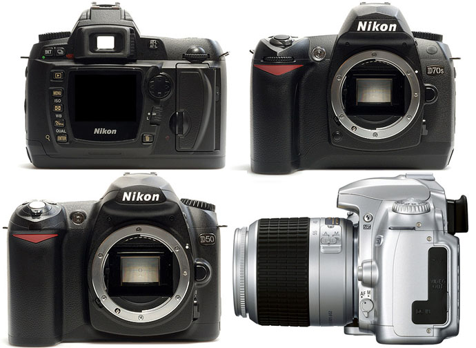 image_49768_superimage New Nikon Entry Level DSLR Cameras, D70s and D50