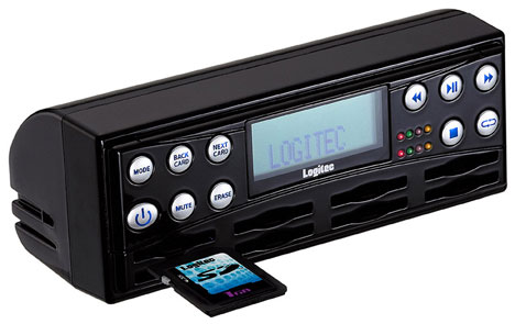 image_50720_superimage Logitec LAT-SD100MP3 8 Bay SD MP3 Changer