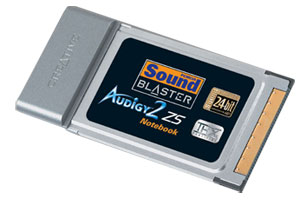 image_52310_largeimagefile Creative Sound Blaster Audigy 2 ZS Notebook PC Card