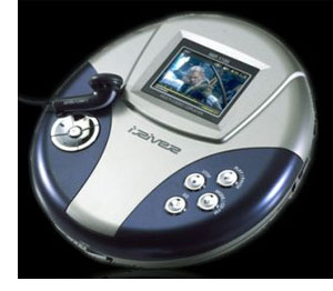 image_54658_largeimagefile iRiver iMP-1100 first Disc-man style Multimedia Player