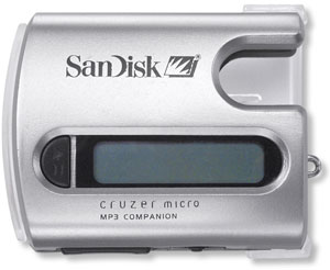 image_55806_largeimagefile Cruzer Micro; Smallest USB 2.0 MP3 Player from Sandisk