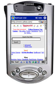 image_56053_largeimagefile Access Announces NetFront v3.1 Browser for Windows Mobile 2003 Pocket PC