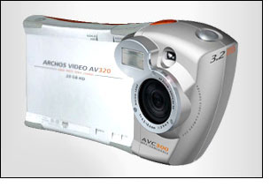 image_56203_superimage Archos Introduces Camera Module for the Popular AV300 Series Portable Video Player
