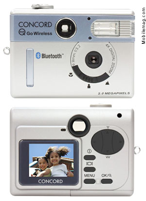 image_57945_largeimagefile Concord EyeQ Entry Level Bluetooth Digital Camera Released