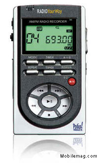 image_58536_largeimagefile PoGo! Products Releases Radio YourWay Digital AM/FM Radio Recorder