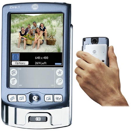 image_58590_superimage Palm Zire 71 adds Integrated Digital Camera and MP3 Playback
